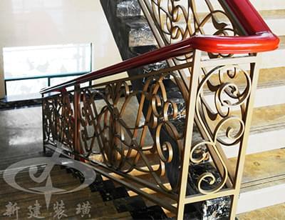 铁艺方管楼梯扶手