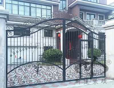 欧式典雅铁艺庭院大门