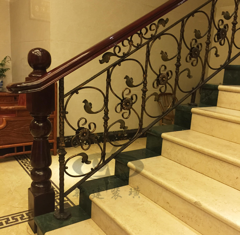 复古铁艺楼梯扶手