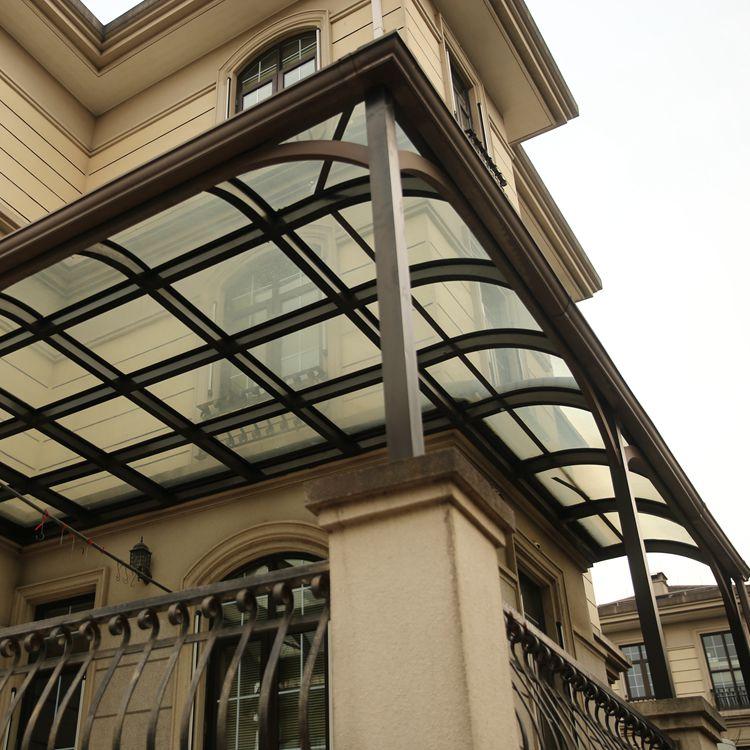 雨棚式玻璃阳光房