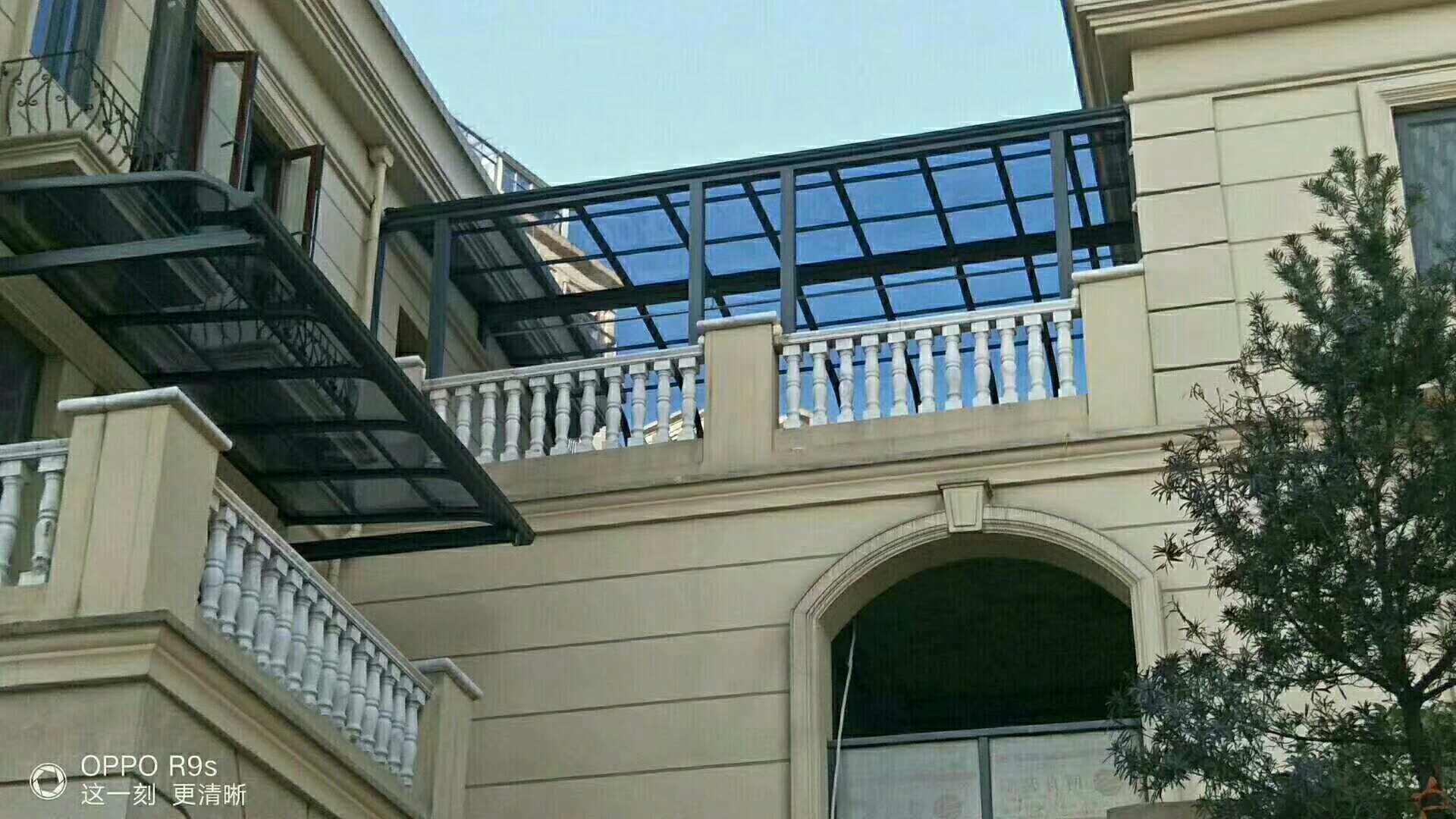 铝合金阳光雨棚